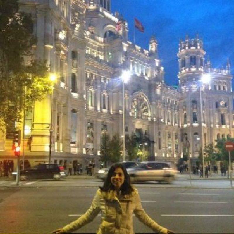 Ana Lucía Martínez juega en el Dínamo Guadalajara, de España. Foto:Facebook