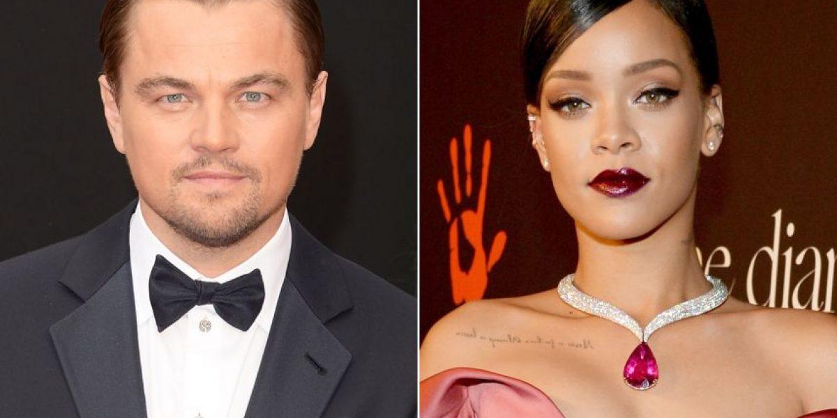 Ya no hay misterio, Rihanna aclara todo sobre ella y Leonardo Dicaprio