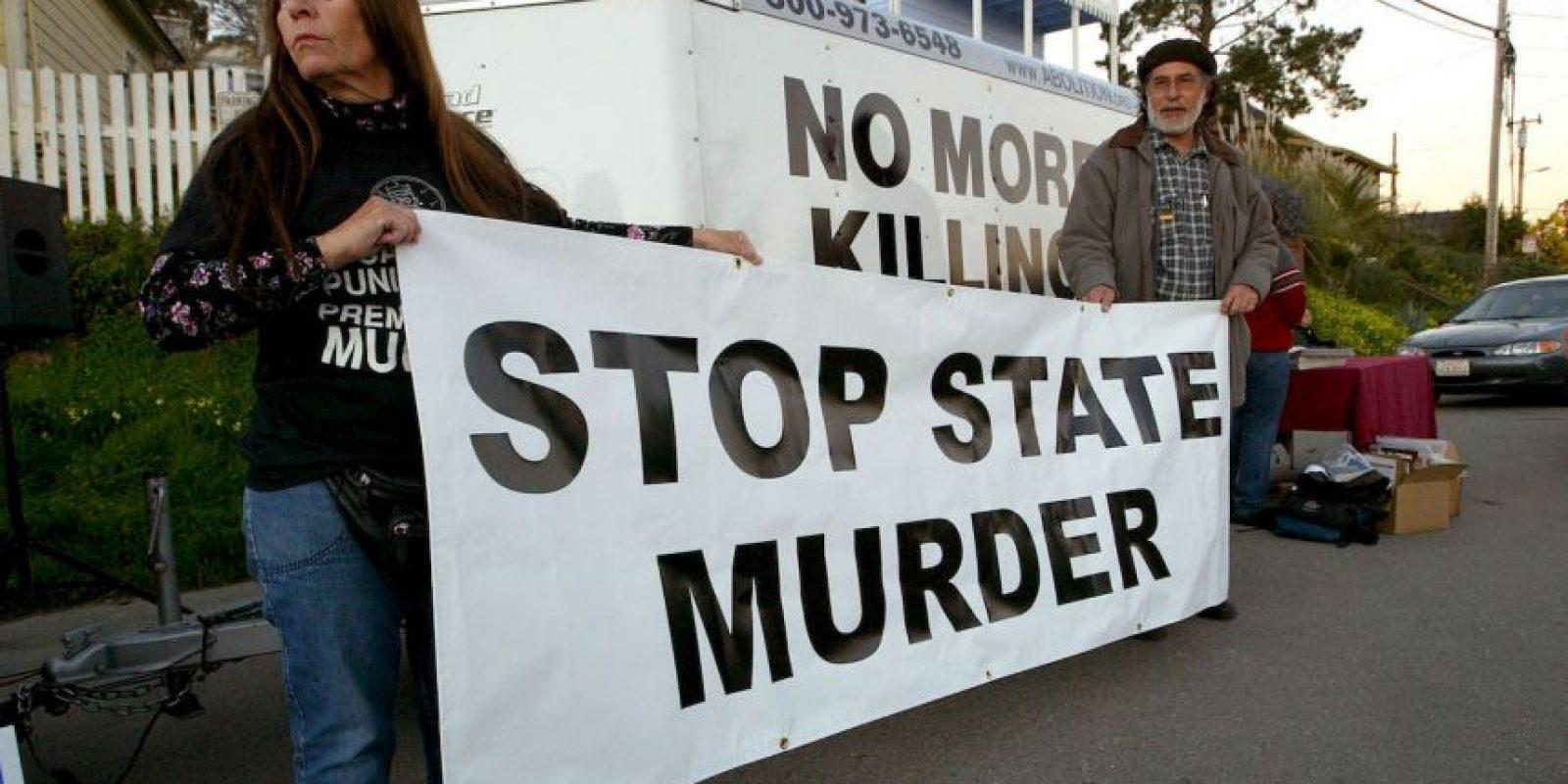 7. El estado de Washington impuso una moratoria de las ejecuciones. Foto:Getty