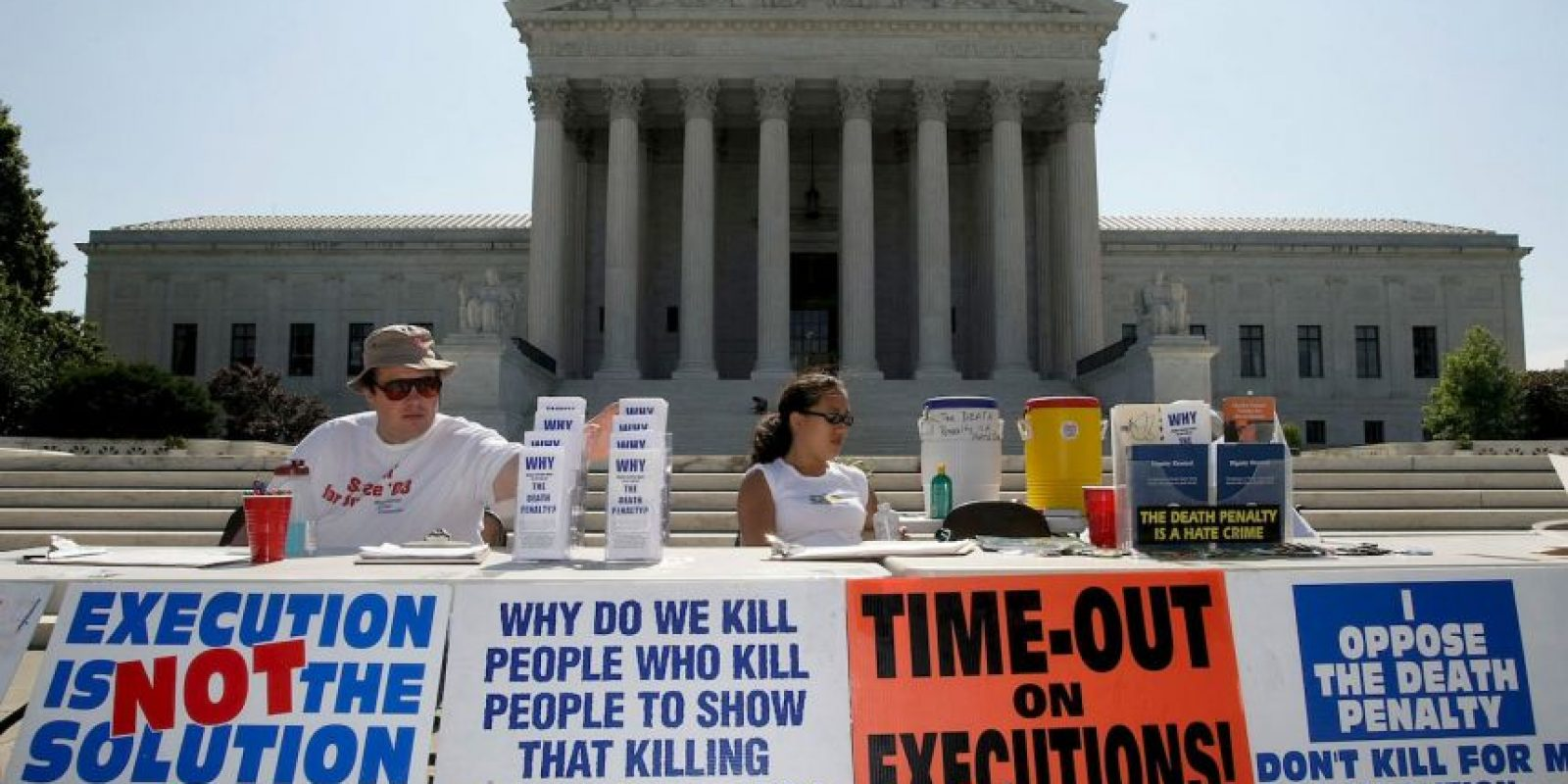 9. En Irán, las autoridades anunciaron oficialmente 289 ejecuciones. Foto:Getty