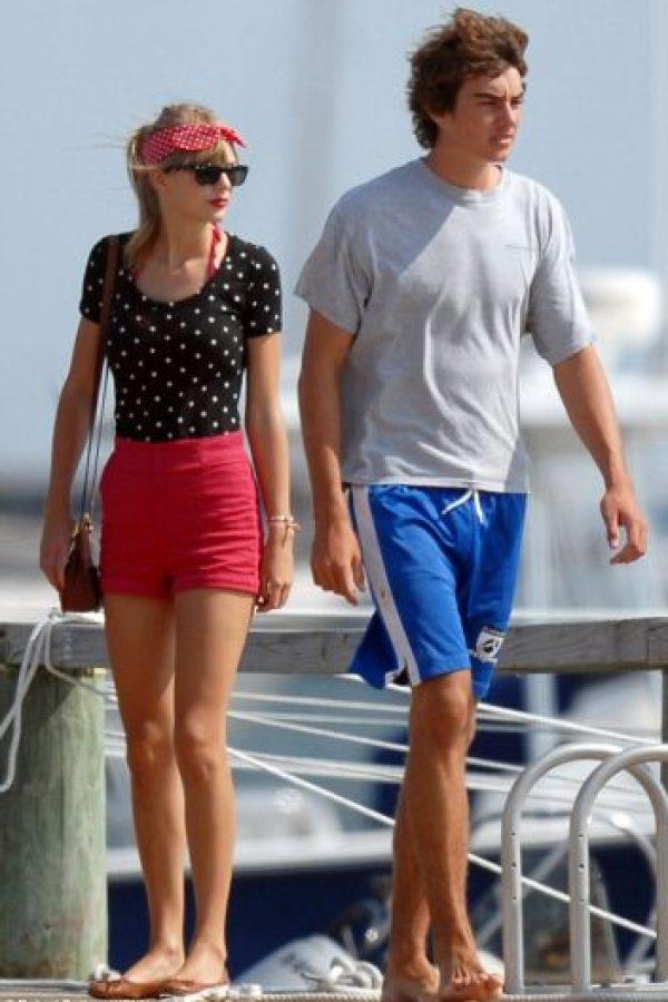 Taylor Swift y Conor Kennedy Foto:Agencias