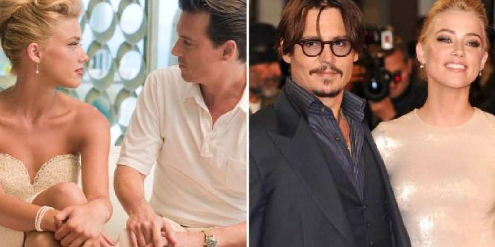 Johnny Depp y Amber Heard Foto: Agencias