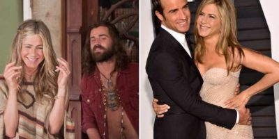 Jennifer Aniston y Justin Thereoux Foto: Agencias