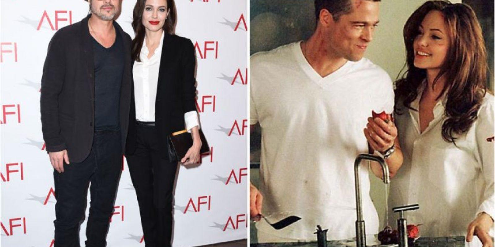 Brad Pitt y Angelina Jolie Foto:Agencias