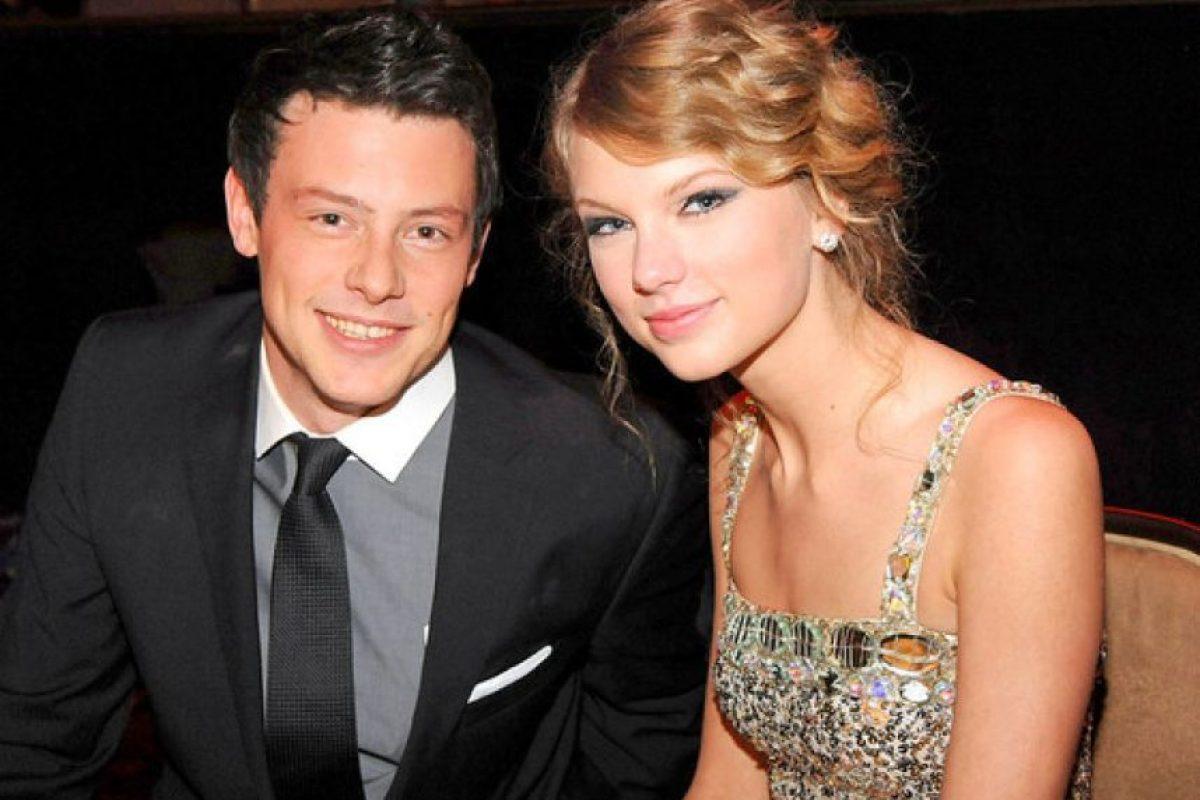 Taylor Swift y Cory Monteith Foto:Agencias