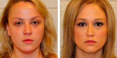 Shelly Dufresne y Rachel Respess tuvieron un trío con un estudiante de 16 años en la casa de Respess. Foto:Policía de Kenner.