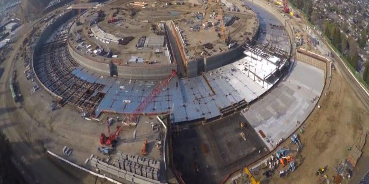 VIDEO: Así construyen el campus