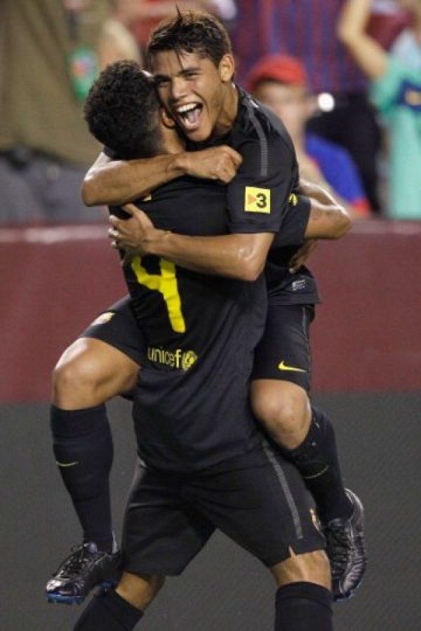 Nacidos futbolísticamente en el Barcelona, ambos futbolistas son grandes amigos desde hace muchos años, por ello, la relación que tienen. Foto:Getty Images