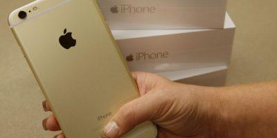 La función de mensajes del nuevo iPhone 6 y iPhone 6 Plus permitirá memorizar el modo en el que el usuario escribe. Foto:Getty