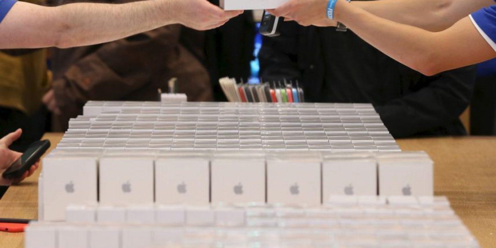 El nuevo iPhone 6 soporta voz sobre red LTE, que permite que el audio de banda ancha suene más nítido y claro. Foto:Getty