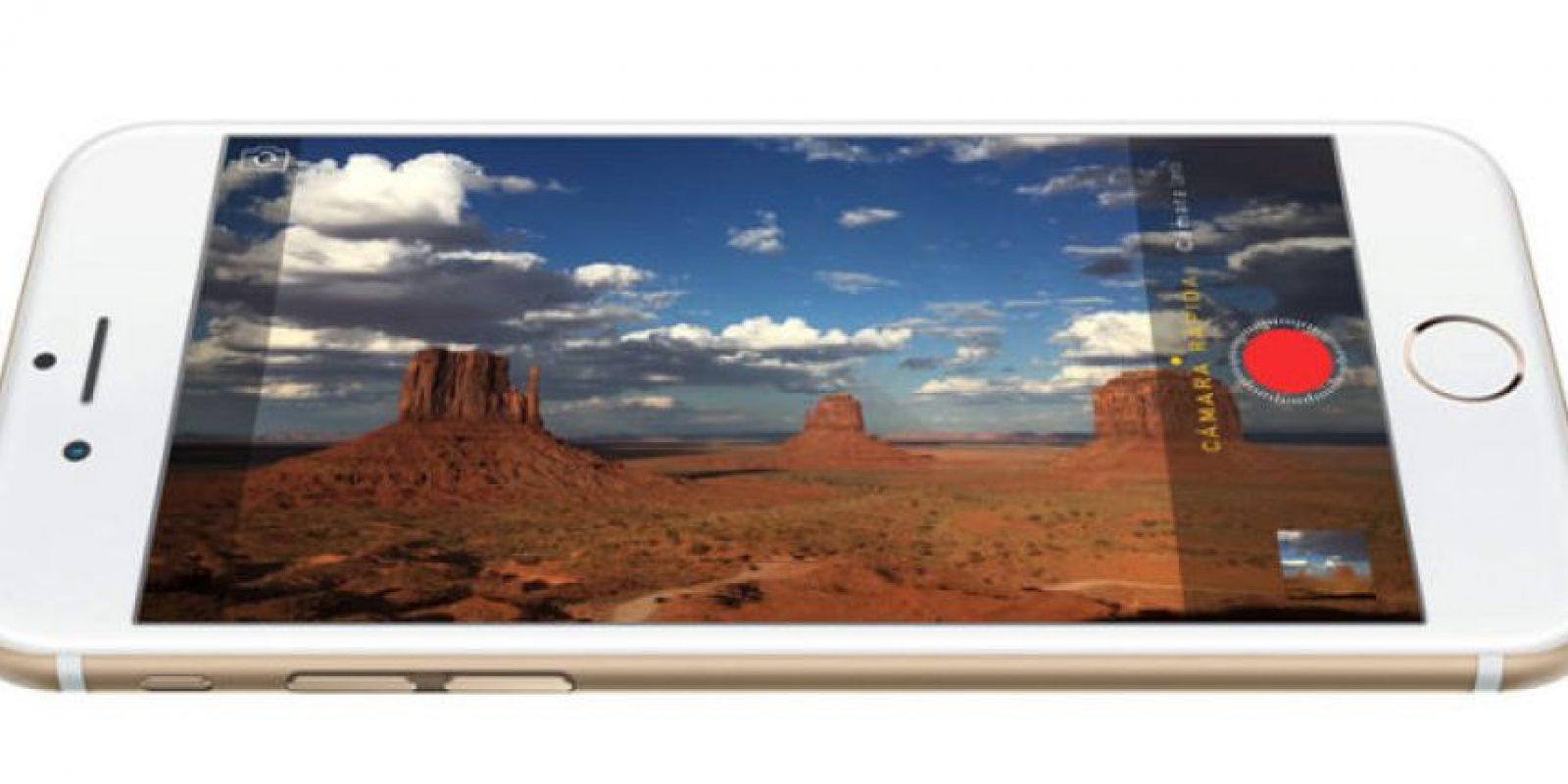 El iPhone 6 cuenta con una pantalla de 4.7 pulgas, mientras que el iPhone 6 Plus una de 5.5 pulgadas. Foto:Apple