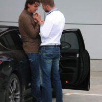 Hace varios años, otros jugadores del Barça causaron polémica al ser captados en una situación cariñosa: Zlatan Ibrahimovic y Gerrard Piqué. Foto:Twitter @doubtpoint