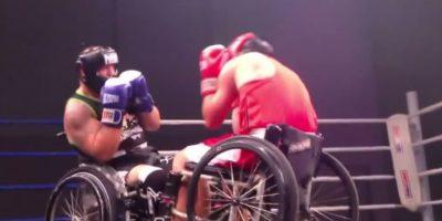 ¡Impresionantes! Boxeadores en silla de ruedas cautivan en Internet
