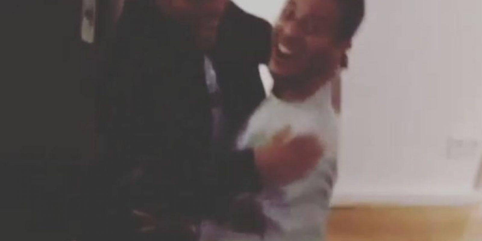 Thiago también publicó un video de una visita de Jonathan a Munich, donde él radica ahora. En él, ambos se abrazan por la emoción de verse de nuevo y hasta caen al piso. Foto:Instagram @Thiago6