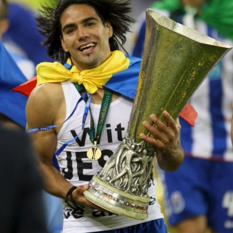 3. Radamel Falcao Foto: Getty Images