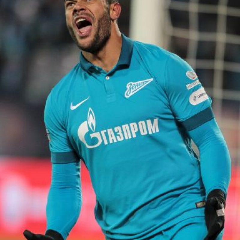 Llegó al Porto como un desconocido y luego de cinco años, llamó la atención de todos los grandes de Europa. Al final, fue el Zenit de San Petesburgo el que se quedó con él tras desembolsar 60 millones de euros. Foto:Getty Images
