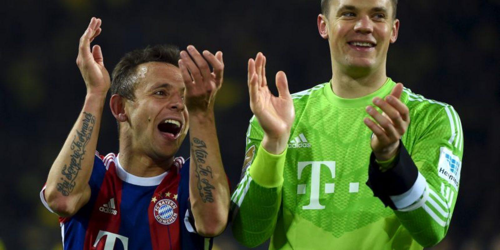 Esto por la gran rivalidad que hay entre el Dortmund y el Munich. Foto:AFP