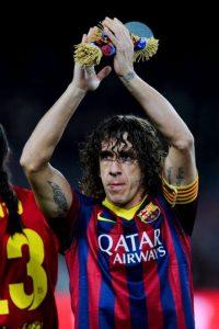 Fue el primer capitán del Barcelona en levantar seis copas el mismo año: Fue en 2009, cuando ganaron la Liga, Copa del Rey, Supercopa de España, Champions League, Supercopa de Europa y Mundial de Clubes. Foto:Getty Images