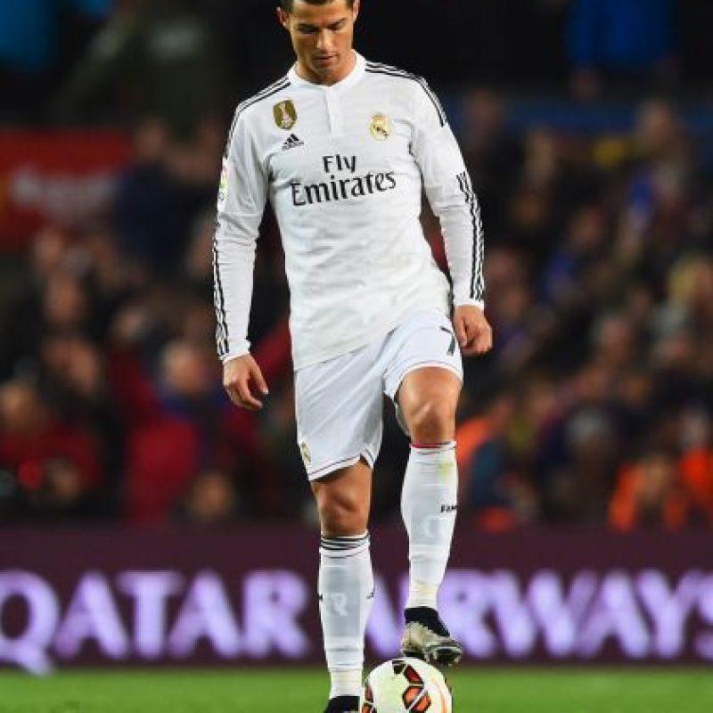 """En 2014, el portugués sí atendió a sus fans aunque los """"regañó"""" por no llevar bolígrafo para los autógrafos. Foto:Getty Images"""