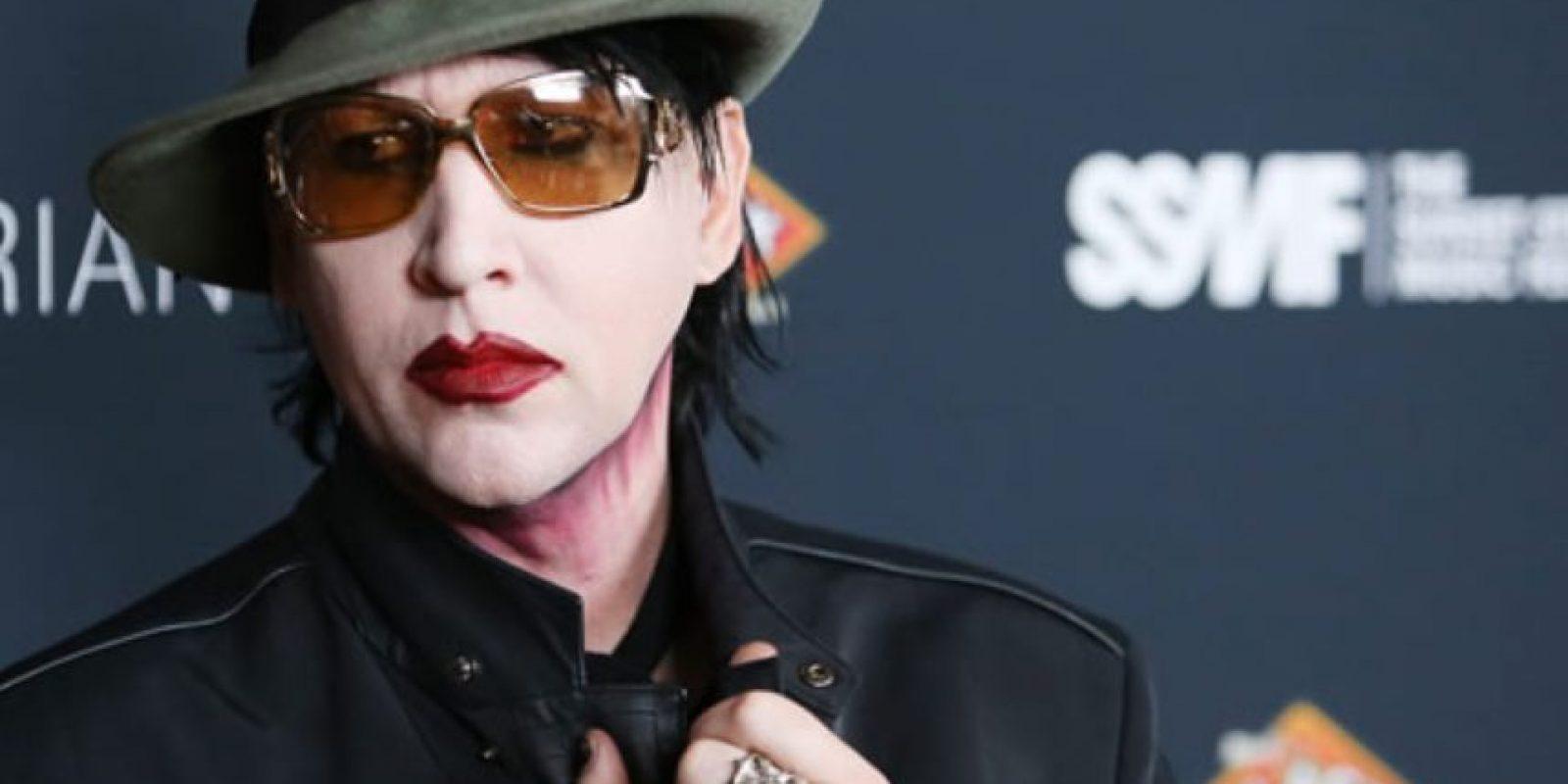 """Que dijeran que se volvían """"satánicos"""" como Marilyn Manson. Foto:Fox"""