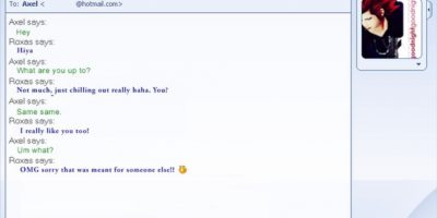 Coquetear con gente WTF en MSN. O que el que estuviese ahí y ustedes lo adoraran. Y no hablase. NO. HABLASE. Foto:Tumblr