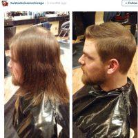 La primera impresión sí es la que cuenta. Y ellos lo saben. Con un corte de pelo, hicieron maravillas Foto:Instagram
