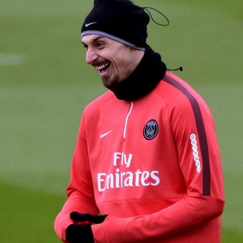 El delantero sueco de 33 años, tiene contrato con el PSG hasta 2016. Foto:Getty Images