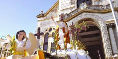 FOTOS. Jesús Resucitado de El Calvario recorre calles de la zona 1
