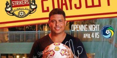 El equipo fue vendido a un grupo de tres inversionistas brasileños, pero Ronaldo se integró como el cuarto dueño. Foto:Facebook Fort Lauderdale Strikers