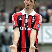 Durante dos años jugó para el AC Milán. Foto:Getty Images