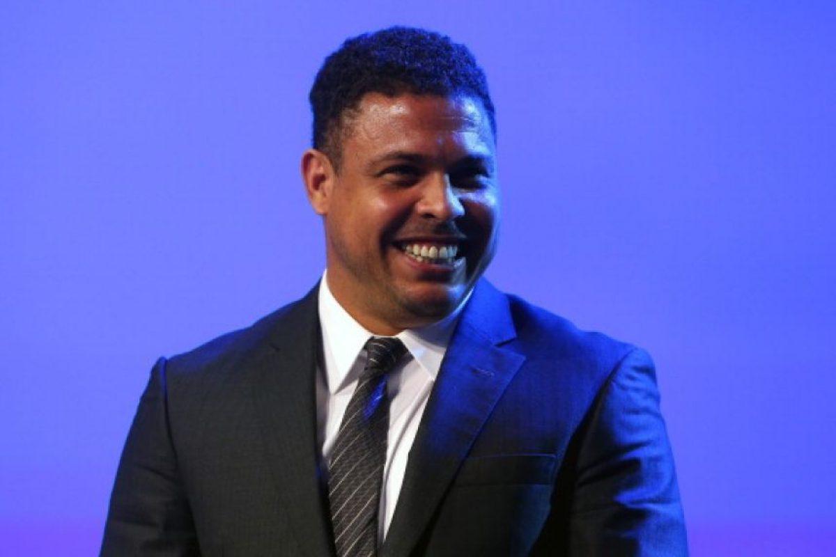 Ronaldo es copropietario de un equipo de la NASL (Segunda División de Estados Unidos): el Fort Lauderdale Strikers. Foto:Getty Images