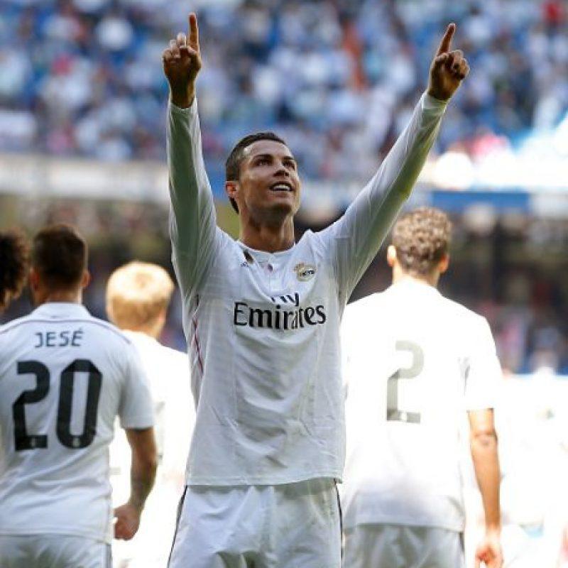 Además, el astro lusitano logró con sus tantos de hoy, 213 goles en la Liga, conviertiéndose en el octavo goleador histórico de la primera división de España. Foto:Getty Images