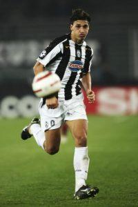 Entre 2004 y 2006 vistió los colores de la Juventus de la Serie A italiana. Foto:Getty Images