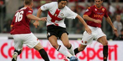 De ahí, pasó al Inter de Milán doden jugó de 2006 a 2009 y dio el salto internacional. Foto:Getty Images