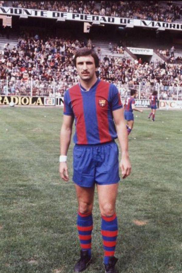1979 – Ese mismo año, Hans Krankl colaboró en la goleada 9-0 del Barcelona al Rayo Vallecano. Foto:Twitter @falso9web