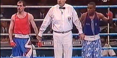 En Atlanta 1996, un prometedor jovencito de 19 años representó a Estados Unidos en el boxeo olímpico. Se llamaba Floyd Mayweather. Foto:Youtube Jordan Far