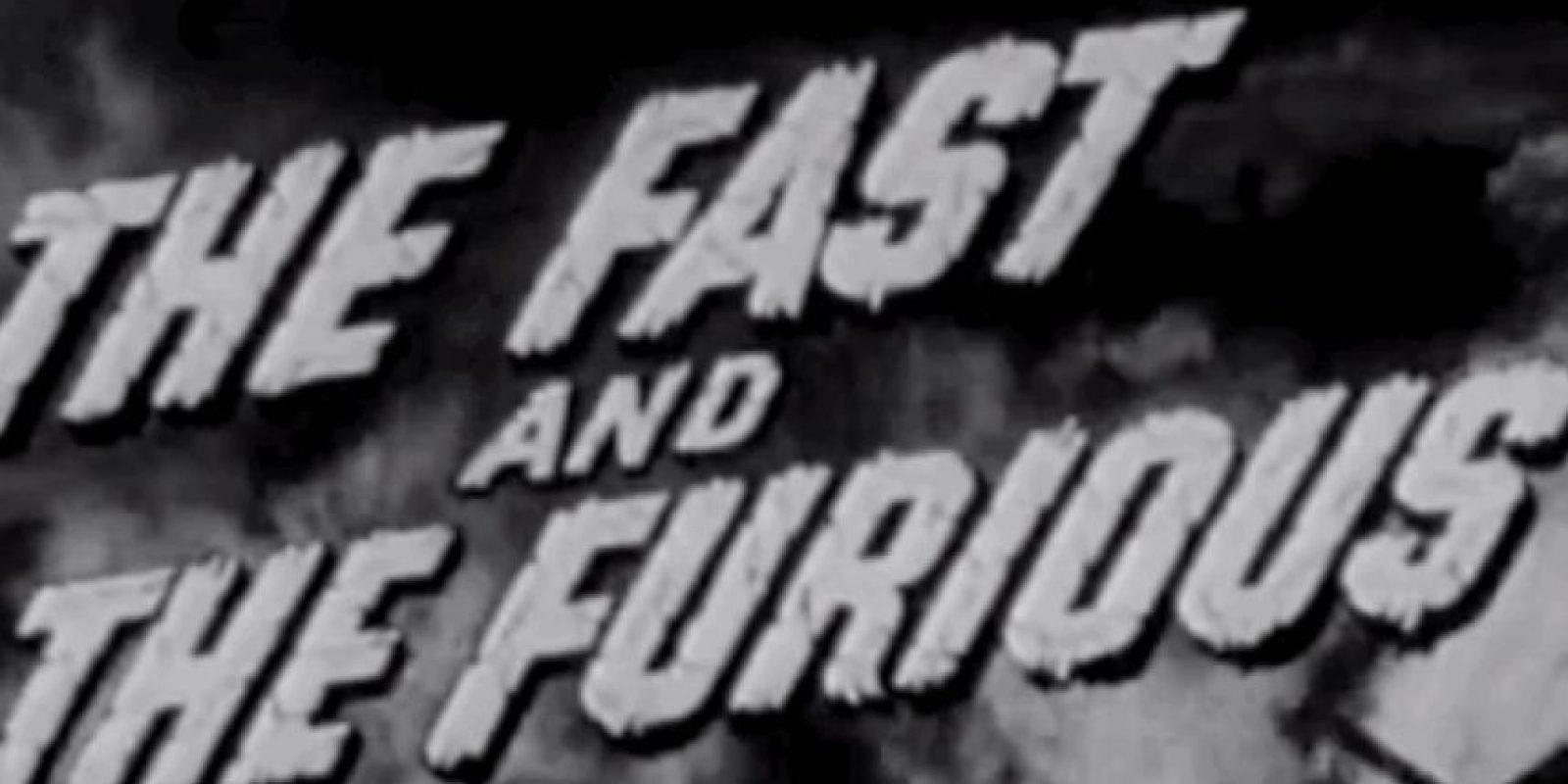 Hubo una película en 1955 que tenía el mismo título y era de clase B. Se trataba de un fugitivo que huía a México. Foto:Youtube