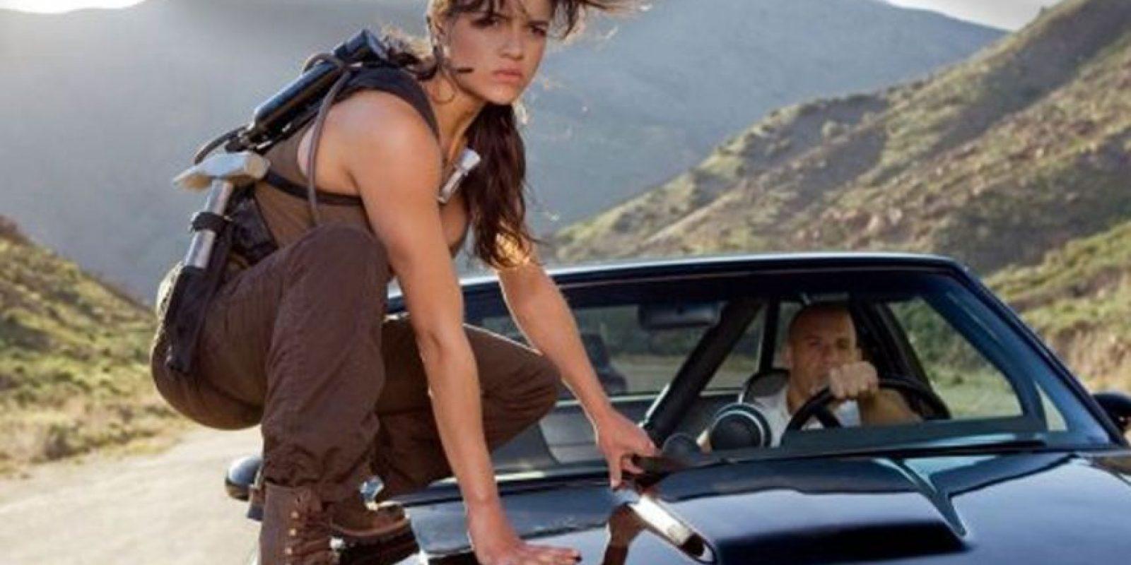 Michelle Rodríguez no tenía licencia de conducir antes de empezar la filmación. Foto:Universal