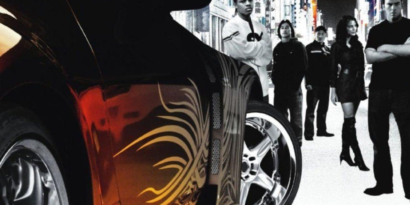 """Se supone que """"Tokyo Drift"""" es la última película de la saga. Foto:Universal"""
