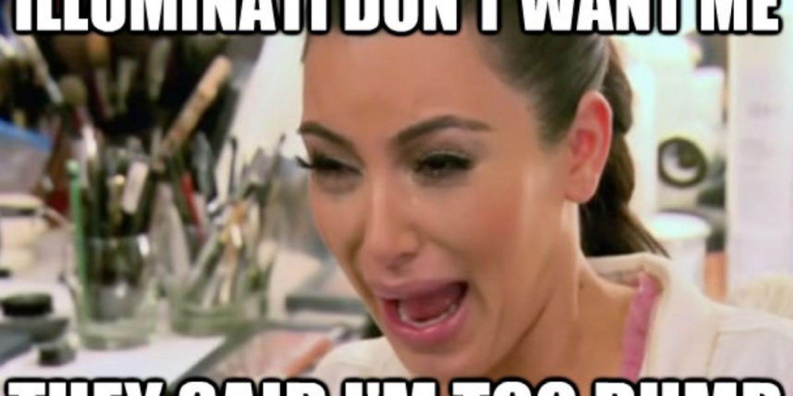 Kim Kardashian es despreciada por su egocentrismo. Foto:Twitter