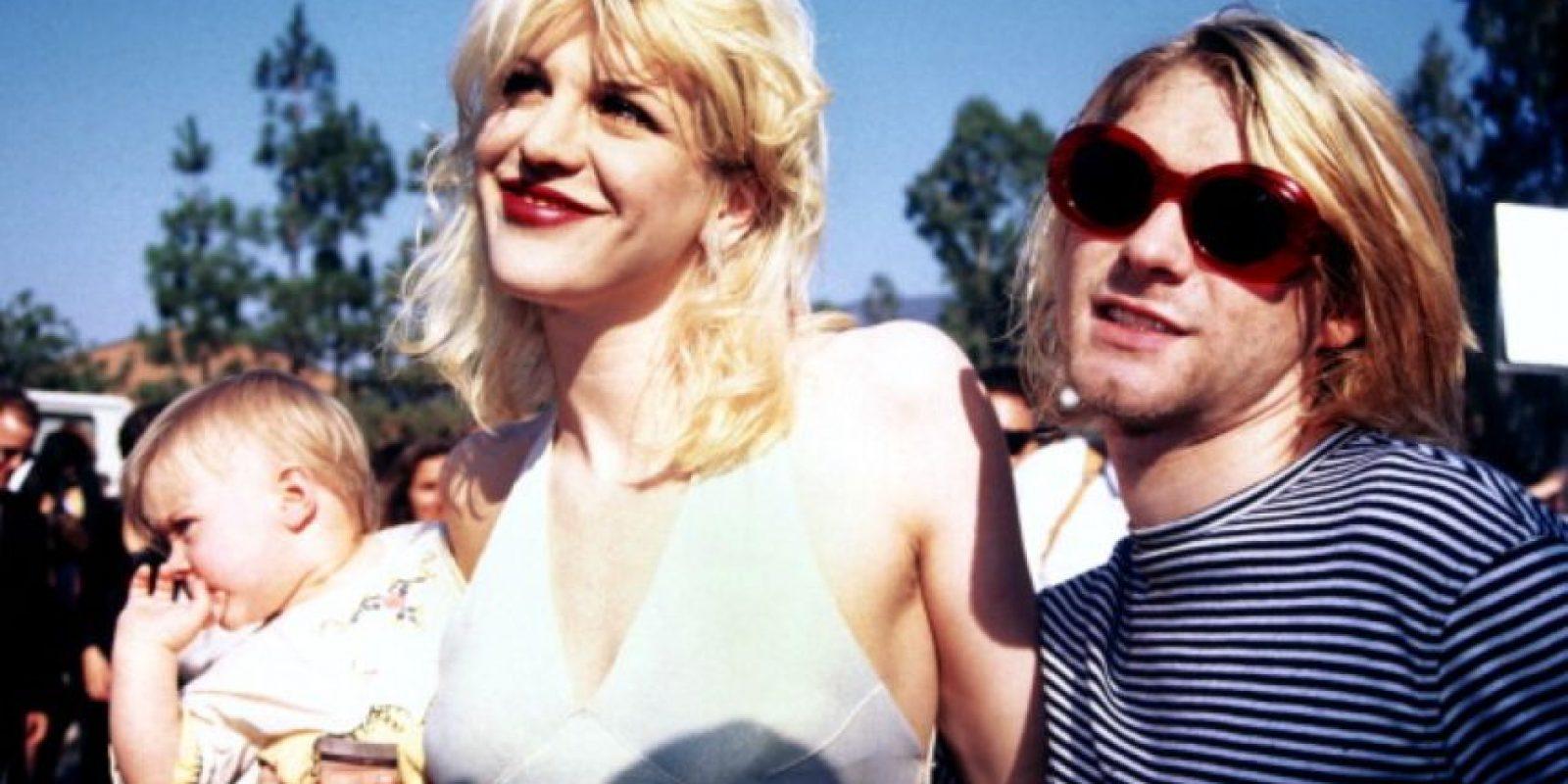 """Próximamente, saldrá un documental de Cobain producido por su hija Frances, llamado """"Montage of Heck"""". Foto:Getty Images"""