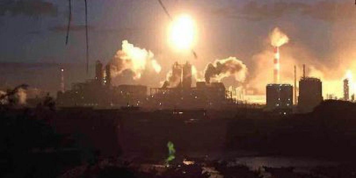 VIDEO: Fábrica de químicos en China reporta explosión