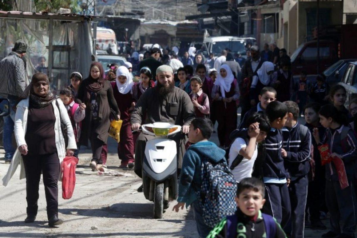 """La organización destacó que los sirios """"son víctimas de la peor crisis humanitaria de nuestro tiempo"""" Foto:AFP"""