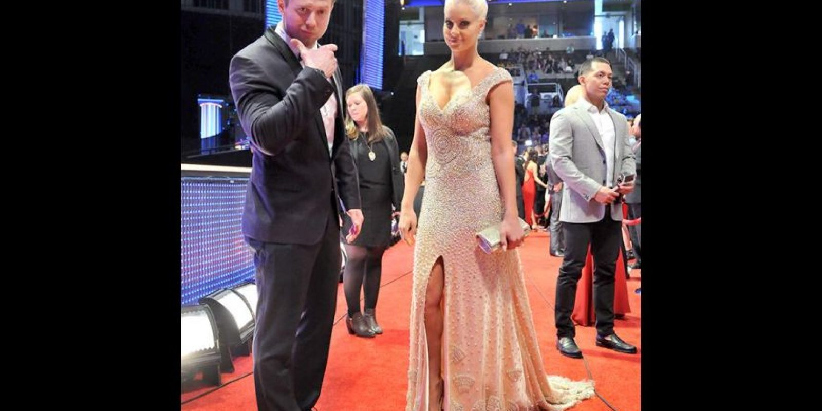 The Miz con Maryse Foto: WWE