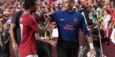 El futuro de Valdés podría estar en un escenario en el que ni él mismo pensó al salir del Barcelona. Foto:Publinews