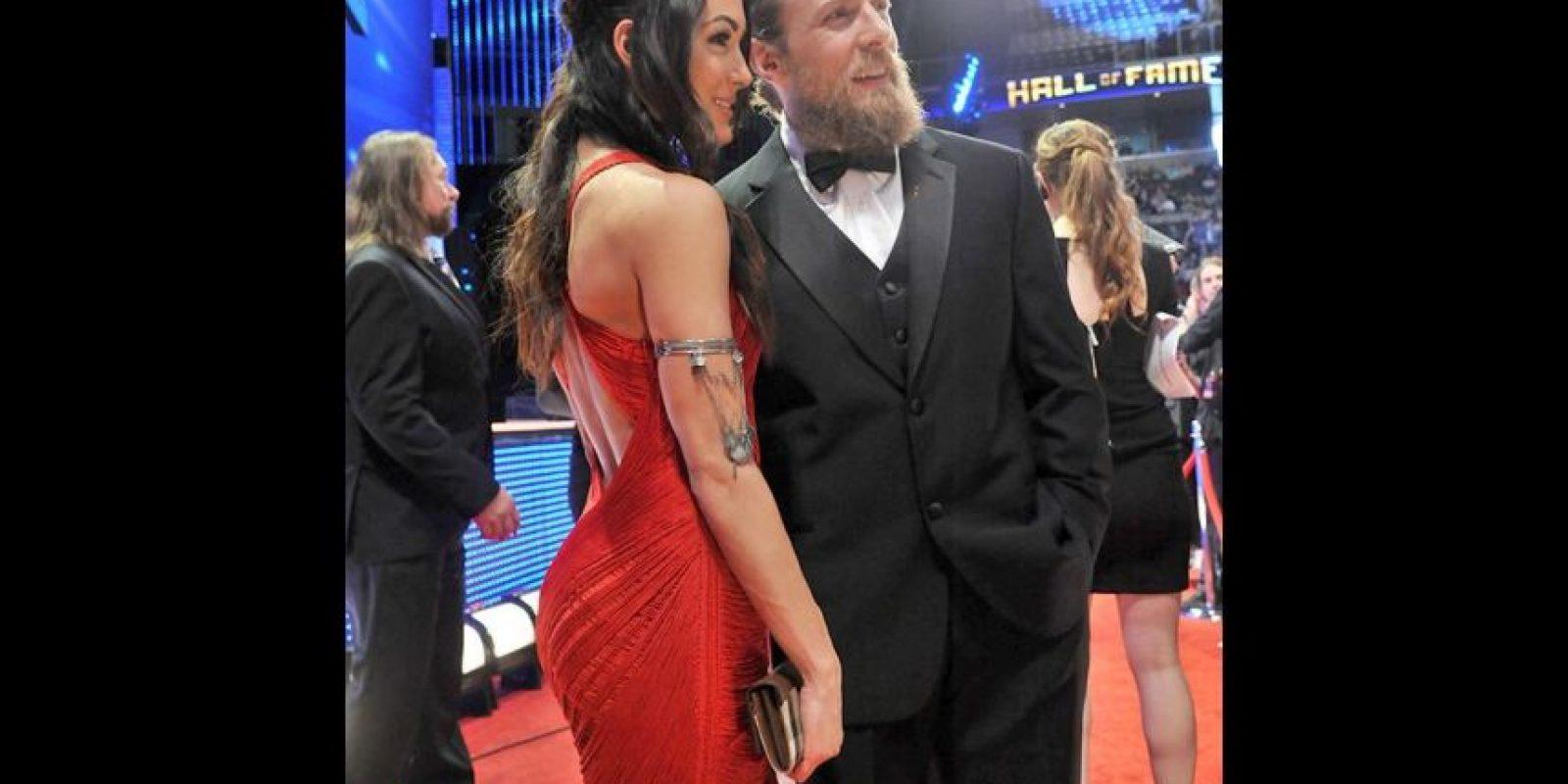 Brie Bella y Daniel Bryan Foto:WWE