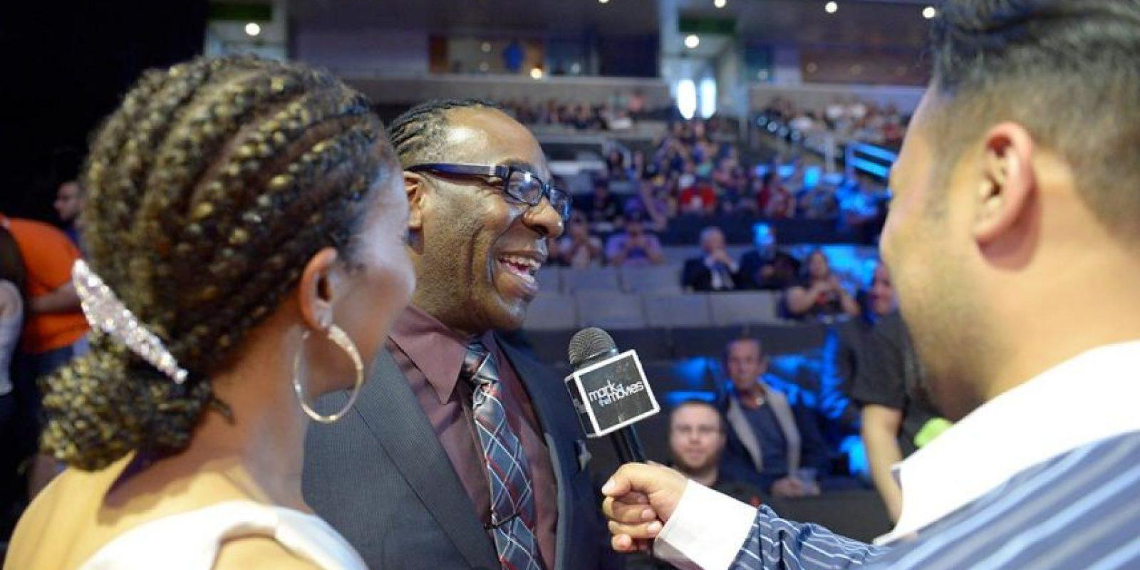 Booker T y su esposa Sharmell Foto:WWE
