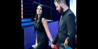 Paige y su novio Kevin Skaff Foto:WWE
