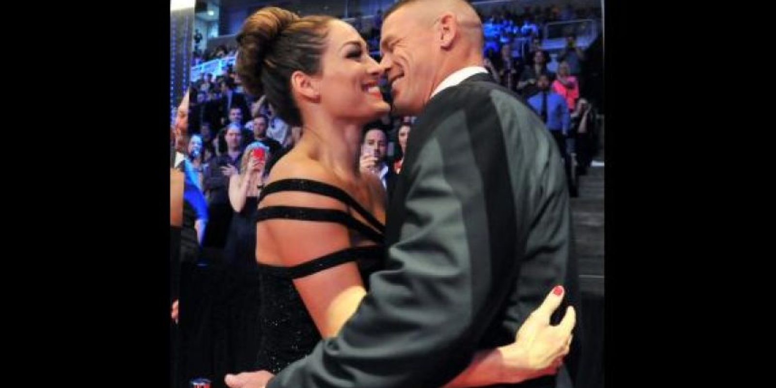 John Cena y su pareja Nikki Bella Foto:WWE