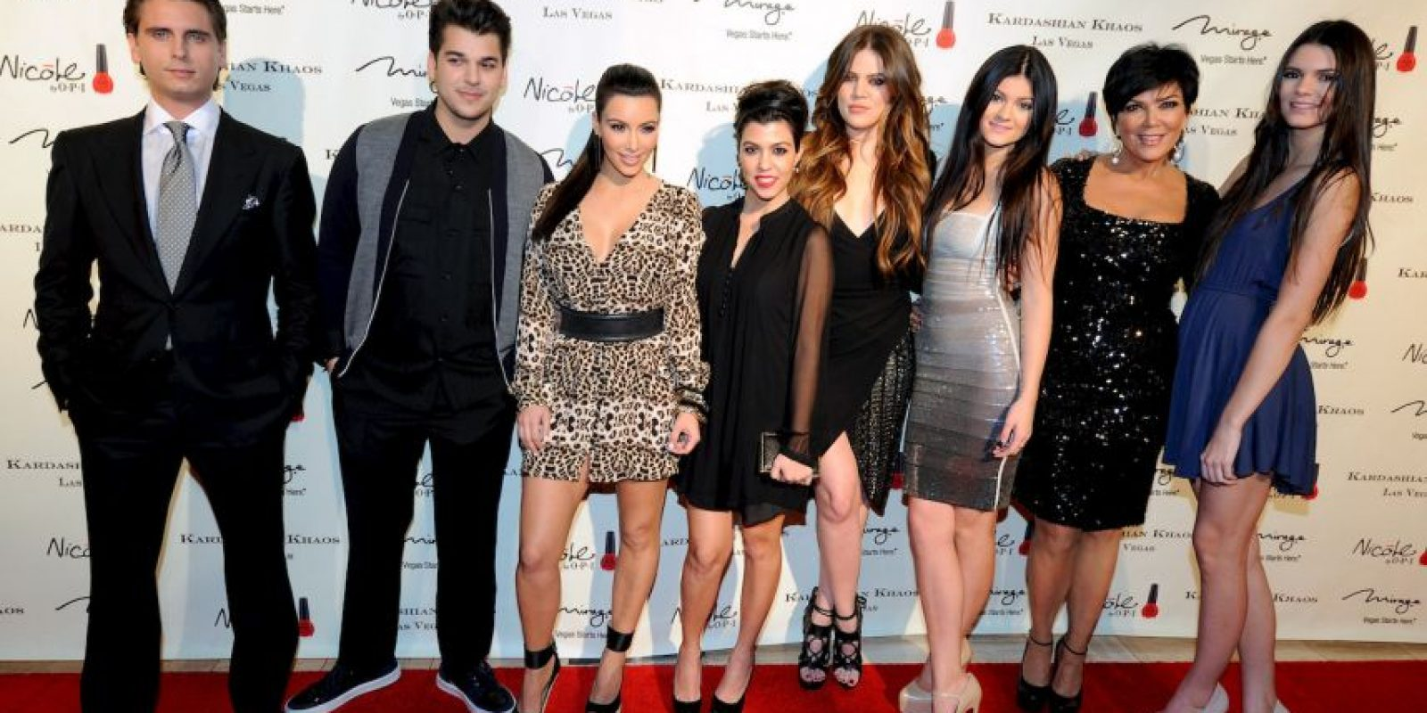 Y a su madre, Kris Jenner Foto:Getty Images